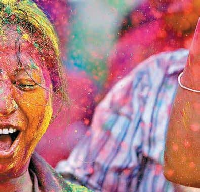 YOG-SANDESH-MARCH 2012-Eng-2.qxd 01-03-2012 19:23 Page 39 very famous. Holi is also celebrated in Spain in which