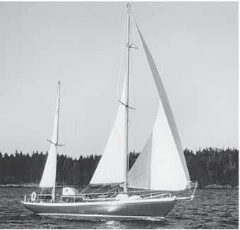 exit small boats from larger craft, beach or rocky shore. ABIGAIL is a lovely 39' ketch