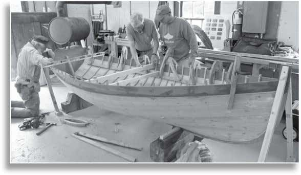 and most spe- ci cally with plank-on-frame small craft. We tend to build dif cult boats