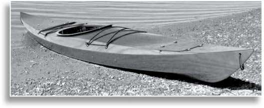 from a Chesapeake Light Craft kit, the Shearwater Sport uses all of the most advanced wood-composite