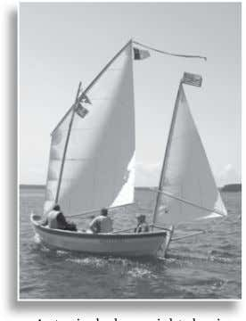 the worry that our heirs might have to nish the project. THE CATBOAT The pleasures of