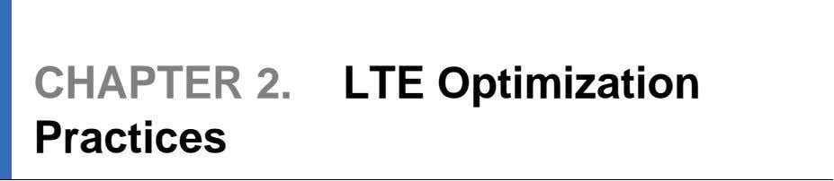 819 LTE Optimization Engineering Guideline 2.1 Coverage Improvement Cell site planning is an important factor in