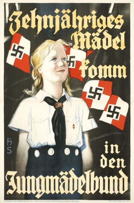 """the Nazis sought to wean youth from parental to party control."" To what extent did the"