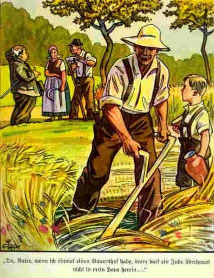 nationalist and anti-Semitic goals • Ideal German: peasant farmer • eradication of social and racial outsiders