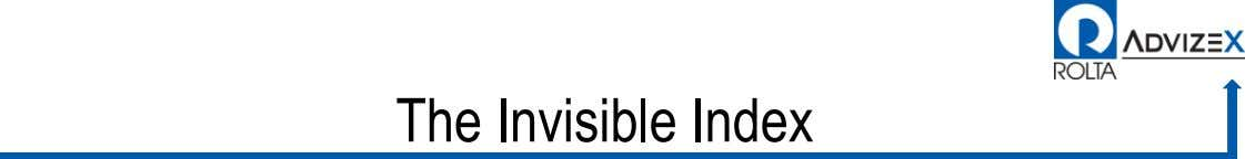 The Invisible Index