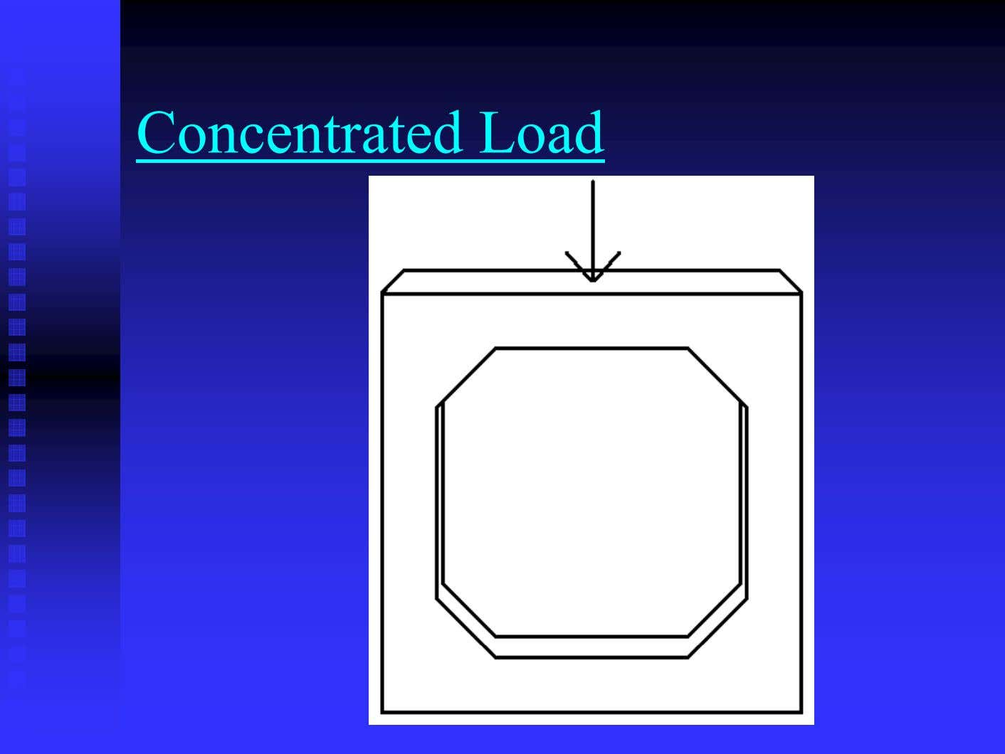 Concentrated Load