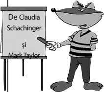 De Claudia Schachinger şi Mark Taylor