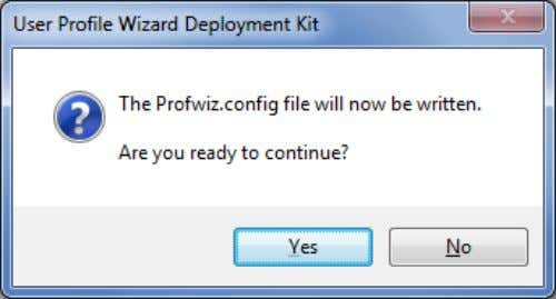 When you click Next at Step 10, the Deployment Kit tells you it is ready to