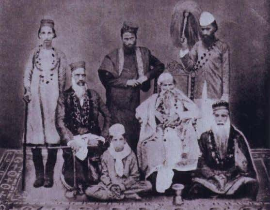 his own guru even after his departure from this world. Soamiji Maharaj with some of the
