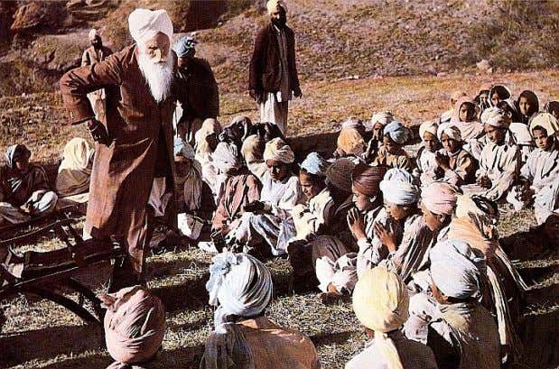 us to a question; what if the letter's contents were true? Hazur Baba Sawan Singh Ji