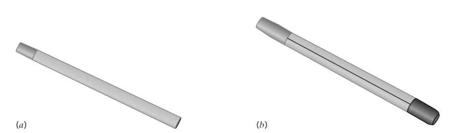 used for visual examination and for classification tests. Figure 1.26 (a) A thin-walled tube and (b)