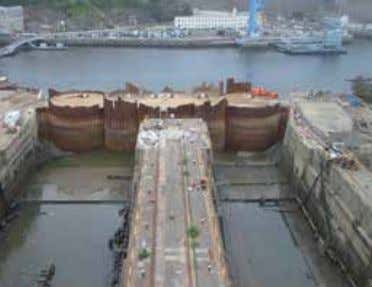 Project: Arsenal of Brest, France Sections: AS 500 - 12.7 Quantity: 675 tonnes 44