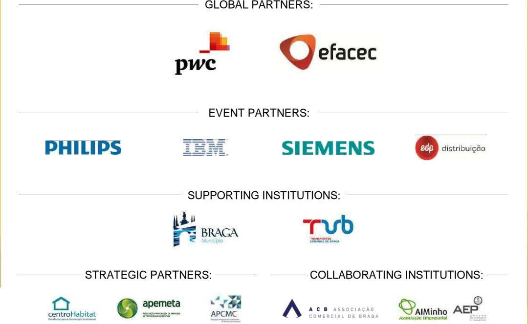 GLOBAL PARTNERS: EVENT PARTNERS: SUPPORTING INSTITUTIONS: STRATEGIC PARTNERS: COLLABORATING INSTITUTIONS: