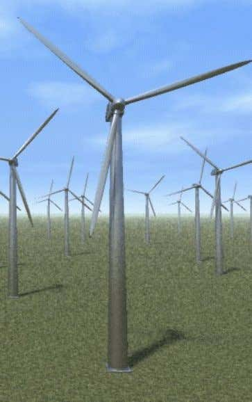 The most efficient modern wind machines have 2 or 3 blades like the propeller of an