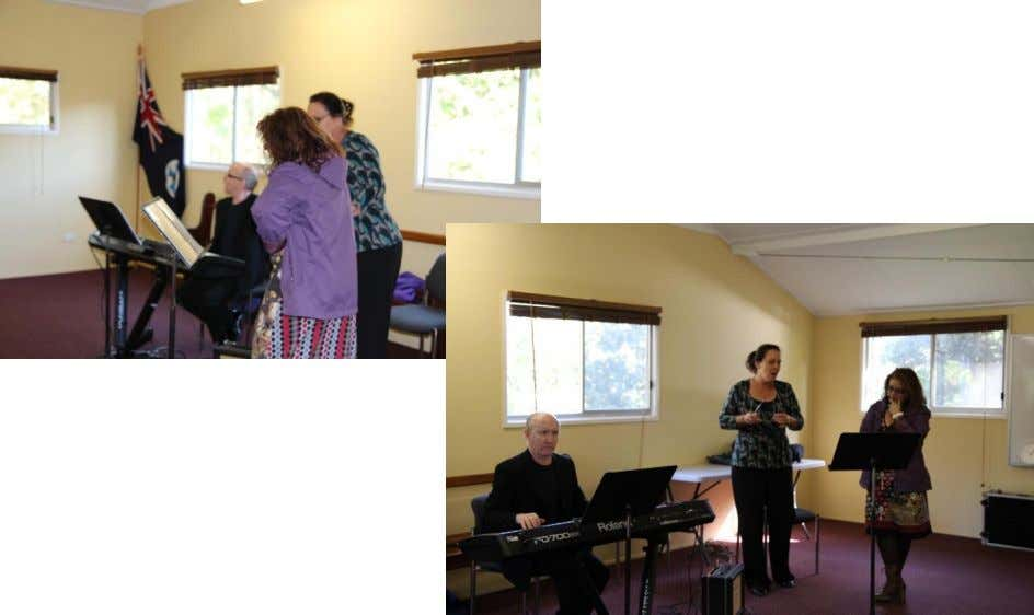 professional that teaches in the Queensland Conservatorium, in Griffiths University. And the workshop with the group.