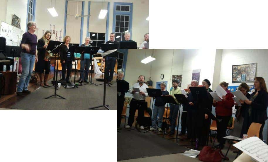 speaking countries. Coro Austral makes accesible Iberian and Latin American choral music to Australian audience. 5