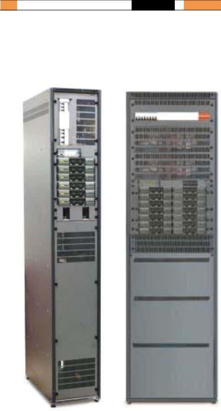 Web access/SNMP Flatpack Wallbox 3000 DC POWER SYSTEMS Flatpack Flatpack Power Tower PRSB 21kW