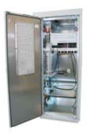 STANDARD SOLUTIONS Outdoor cabinets for site support of mobile or fixed network elements are designed for