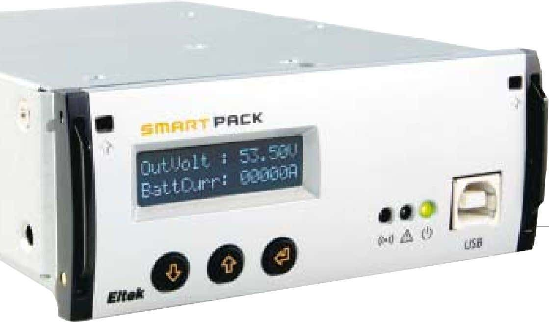 with minimum impact on cost. The Smartpack offers full functionality required in modern and future DC
