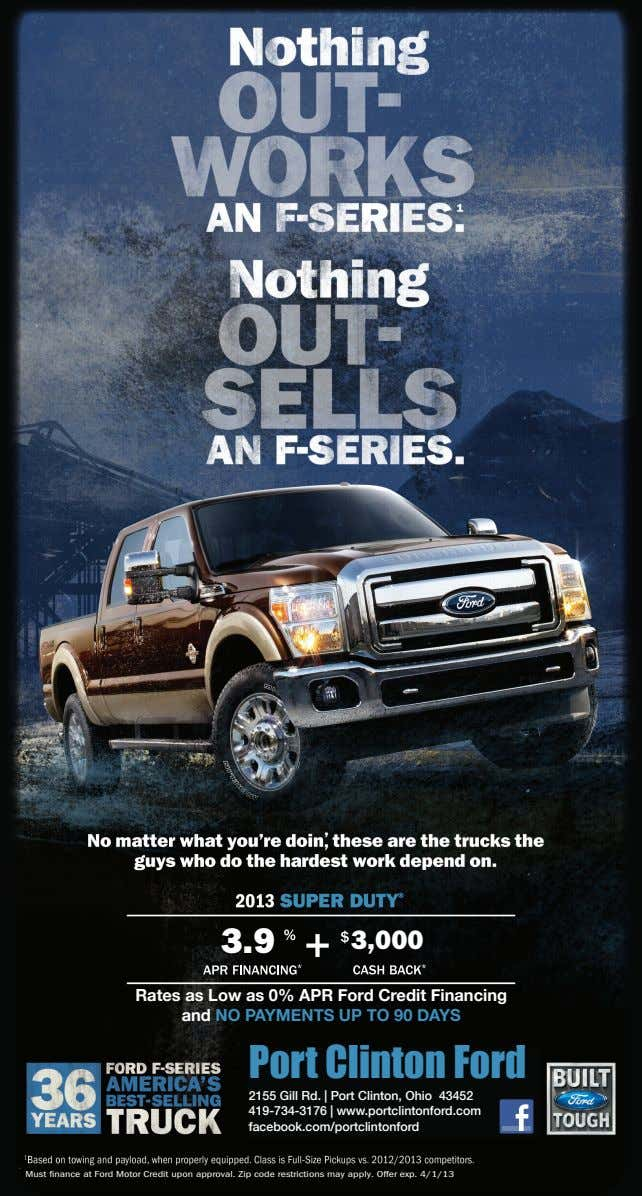 3.9 3,000 Rates as Low as 0% APR Ford Credit Financing and NO PAYMENTS UP