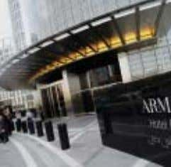 and focus of your business strategy is more vital than ever. The Armani Hotel is this