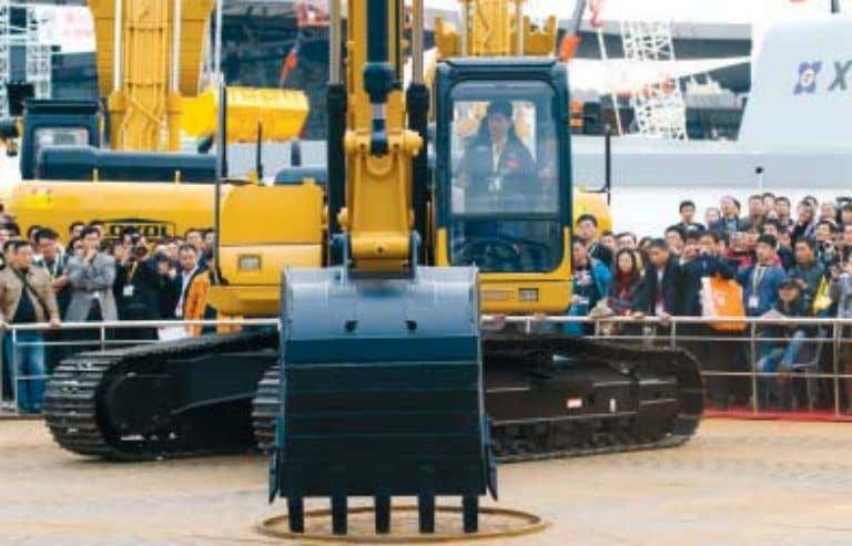 ONLINE FEEDBACK There is 'cutthroat' competition in the heavy construction equipment sector. Re: Chinese machinery