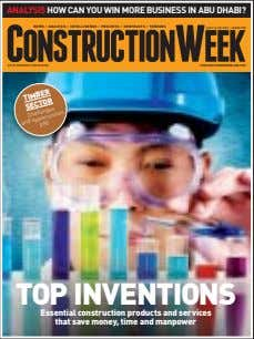 AN ITP BUSINESS PUBLICATION and Challenges opportunities p40 Essential construction products and services that