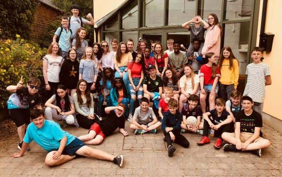 FROM THE CHURCHES Inters Camp Inters 2018 was an action-packed week with 43 campers joining us