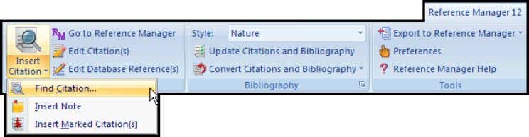 "icon to immediately display the Find Citations dialog.) 4. In the Find text box, type ""dolphin""."
