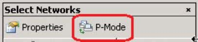 Networks pane, click P-Mode to enable promiscuous mode. 4. Start capturing packets. a. At the top