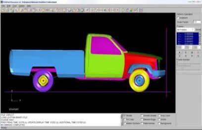 simulation engine and displaying the results graphically. Element Formulation The completed model contains
