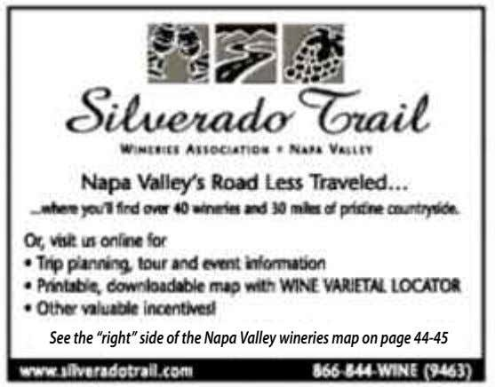 "See the ""right"" side of the Napa Valley wineries map on page 44-45"