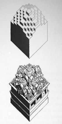Building Science of Indian Temple Architecture Figure 25.1 Figure 25.2 Figure 25.1 – The basic structure