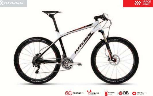 2012 2012 KROSS LEVEL A+ • High-performance and technologically advanced frame made of Carbon SL, with