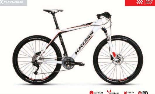 2012 KROSS LEVEL A9 • New frame made of Carbon, with Press-Fit bottom bracket system •
