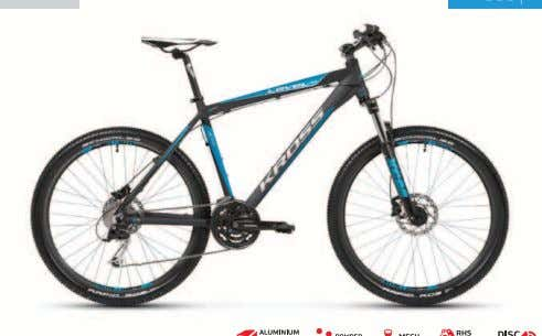 2012 2012 KROSS LEVEL A3 • Butted frame made of Aluminium Lite • Smoothly functioning fork