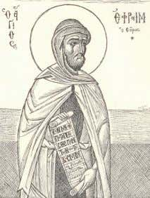 St Ephraim the Syrian says of the judgment and Gehenna: Plate 10: Abba Ephraim The vision