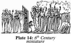 th Plate 14: 6 Century miniature