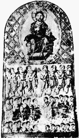 Plate 15: Earliest form of icon of the Last Judgment This theme is evident in the