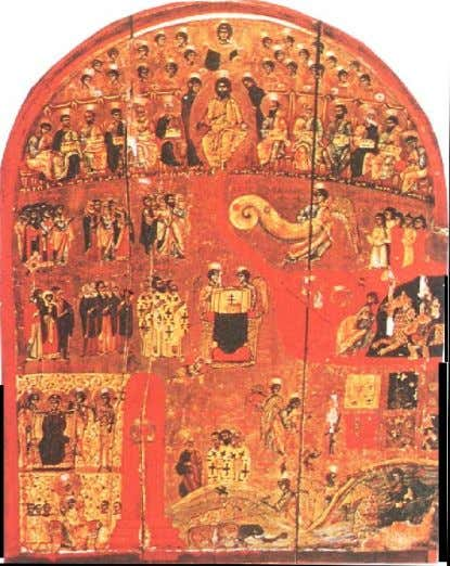 Plate 19: Last Judgment, with river of fire schema of th Kosmas. 11 cent. Constantinople, now