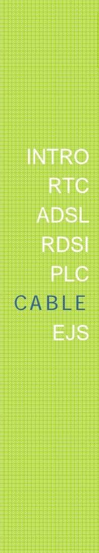 INTRO RTC ADSL RDSI PLC CABLE EJS