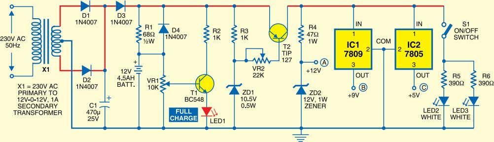 limiting resistors R5 and R6. The lamp can be manually mediately disconnects the load when the