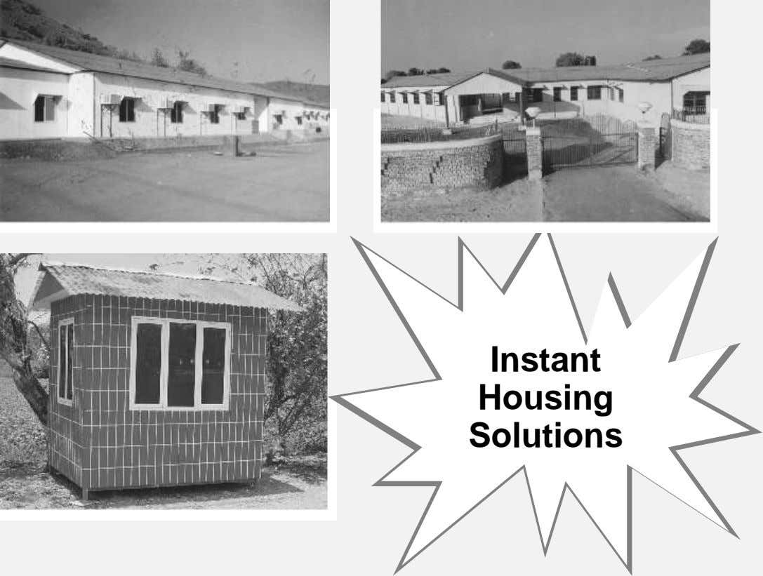 Instant Housing Solutions