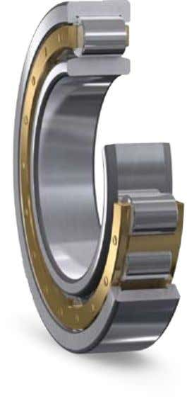 bearing arrangements Cylindrical roller bearings For non-locating bearing arrangements in traction motors cylindrical roller bearings are