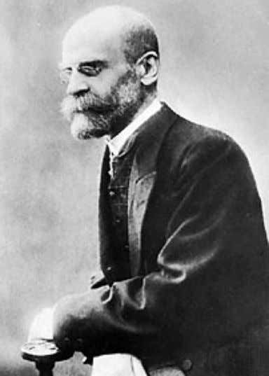 Mutual rejection makes meaningful dialog impossible. Photo Intr 1. Emile Durkheim. The great French Sociologist.