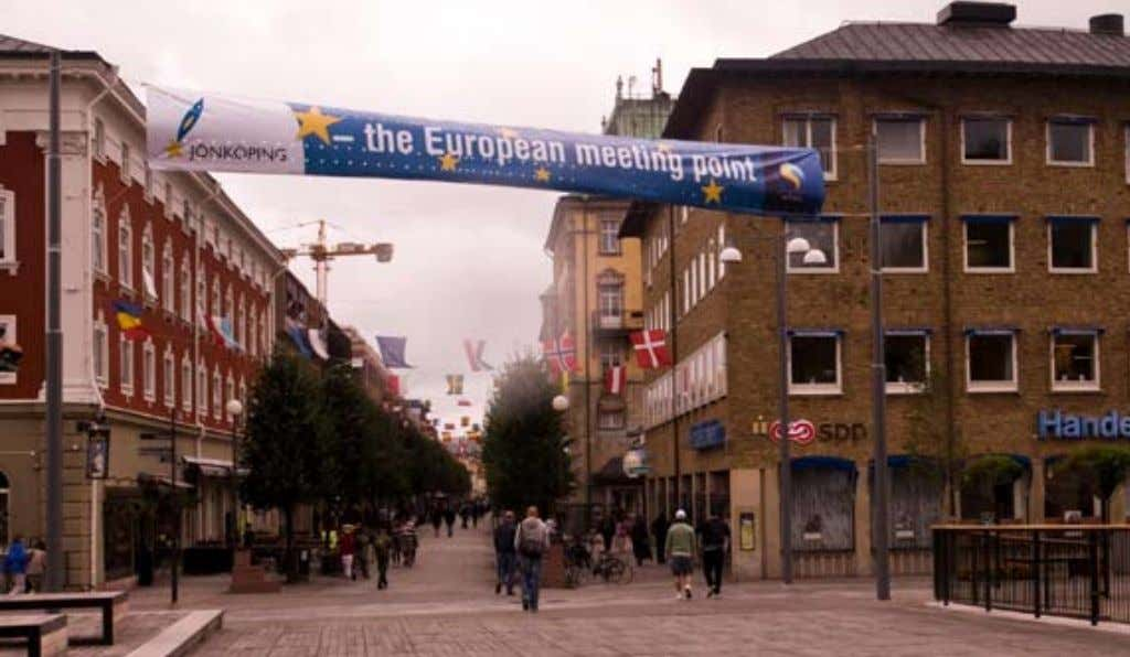 "Photo 4.3. ""In Sweden and in other European countries all communities are approached similarly""On the"