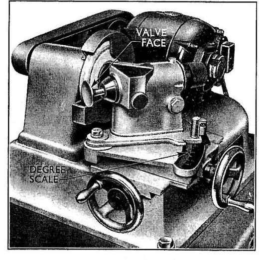 the valves, carefully clean all paste and foreign matter from the seats and valves. Fig. 14