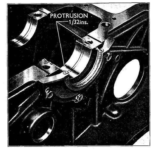 upper half seal in the cylinder block (see Fig. 1 7 ) . Fig. 17 Rear