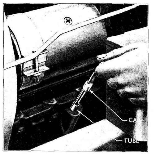 (see Fig. 1 7 ) . Fig. 17 Rear Main Bearing Oil Seel Fig. 18 Engine