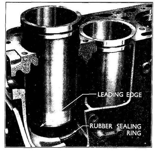 cylinder block it is advisable to turn the cylinder liner and recheck to sec if an